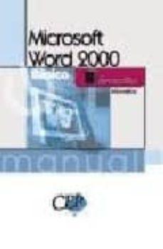 Cronouno.es Manual Microsoft Word 2000 Básico. Formacion Image