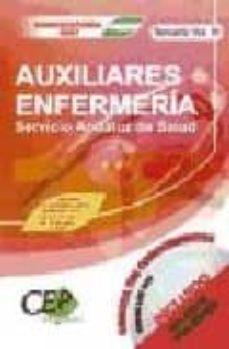 Javiercoterillo.es Oposiciones Auxiliares De Enfermeria Servicio Andalud De Salud (S As): Temario (Vol. Iii) Image