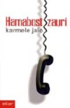 Libro descargable gratis online HAMABOST ZAURI PDB 9788497831680 de KARMELE JAIO in Spanish
