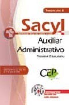 Ojpa.es Auxiliar Administrativo Personal Estatutario Servicio De Salud De Castilla Y Leon (Sacyl). Temario Vol. Ii Image
