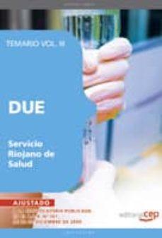 Encuentroelemadrid.es Due Del Servicio Riojano De Salud. Temario Vol. Iii. Image
