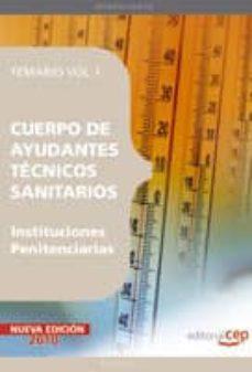 Inmaswan.es Cuerpo De Ayudantes Tecnicos Sanitarios De Instituciones Penitenc Iarias. Temario Vol. I. Image