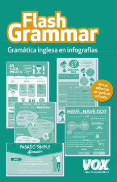 Descargas gratuitas de ebooks para iphone FLASH GRAMMAR: GRAMATICA INGLESA EN INFOGRAFIAS