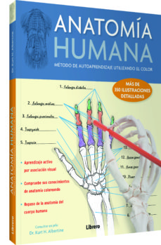 Foro de descarga de libros Kindle ANATOMIA HUMANA: METODO DE AUTOAPRENDIZAJE UTILIZANDO EL COLOR