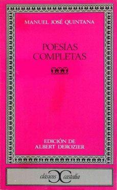 Relaismarechiaro.it Poesías Completas Manuel José Quintana Image