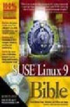 suse linux 9 bible (incluye cd)-justin davies-roger whittaker-william van hagen-9780764577390