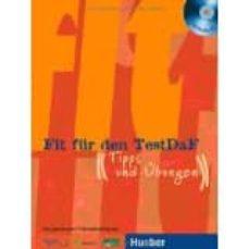 Descargar ebook francais gratuit FIT FUR DEN TESTDAF: PACK - UBUNGSBUCH, LOSUNGSHEFT & 2 CDS 9783190016990 (Spanish Edition) de