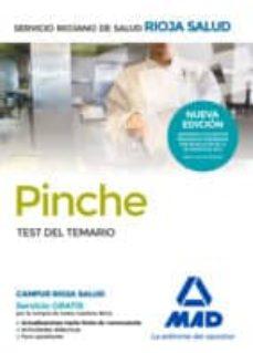 pinches del servicio riojano de salud: test del temario-9788414202890