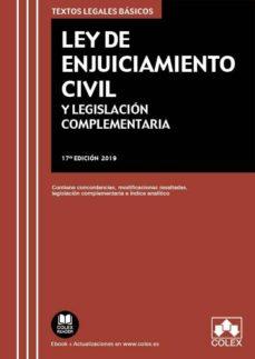 Inmaswan.es Ley De Enjuiciamiento Civil Y Legislacion Complementaria 17ª Edic Ion Image