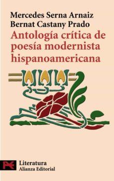 antologia critica de poesia modernista hispanoamericana-bernat castany-9788420668390