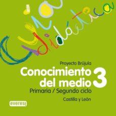 Valentifaineros20015.es Conocimiento Del Medio 3 Educacion Primaria Guia Didactica Brujula Castilla Y Leon Cd Image