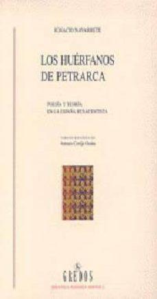 Permacultivo.es Los Huerfanos De Petrarca: Poesia Y Teoria En La España Renacenti Sta Image