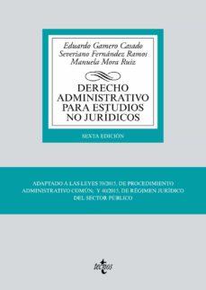 Ojpa.es Derecho Administrativo Para Estudios No Juridicos (Adaptado Al Eees) (6ª Ed.) Image