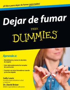 Libros descargables para ipod DEJAR DE FUMAR PARA DUMMIES