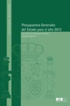 Lofficielhommes.es Presupuestos Generales Del Estado Para El Año 2012 Image