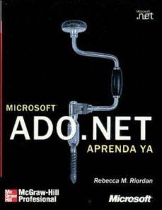 Cdaea.es Aprenda Ya Ado.net Microsoft (Incluye Cd) Image