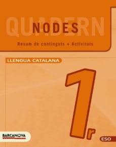 Inmaswan.es Nodes. Llengua Catalana. Eso 1. Quadern De Treball Image