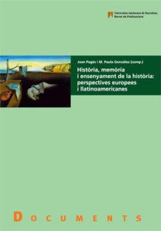 Cronouno.es Historia, Memoria Y Ensenyament De La Historia: Perspectives Euro Pees I Llatinoa Image