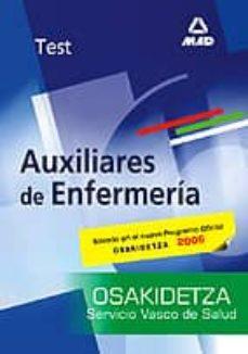 Valentifaineros20015.es Test De Auxiliares De Enfermeria De Osakidetza Image