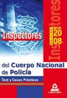 Cronouno.es Inspectores Del Cuerpo Nacional De Policia. Test Y Casos Practico S Image