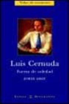Inmaswan.es Luis Cernuda: Fuerza De Soledad Image