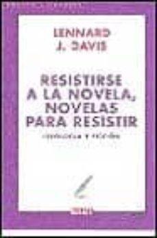 Inmaswan.es Resistirse A La Novela: Novelas Para Resistir Image