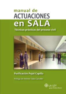 manual de actuaciones en sala (ebook)-purificacion pujol capilla-9788490201190