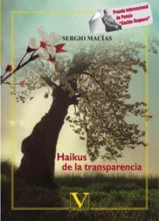 Descarga gratuita de libros en electrónica pdf. HAIKUS DE LA TRANSPARENCIA