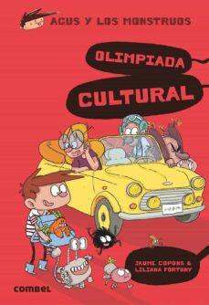 agus y los monstruos 13 :olimpiada cultural-jaume copons-9788491014690