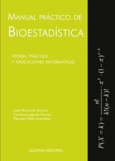 Mrnice.mx Manual Practico De Bioestadistica (+ 2 Anexos): Teoria, Practica Y Aplicaciones Informaticas Image