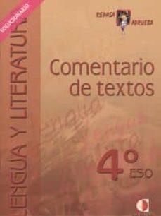 Geekmag.es Comentario De Textos: 4 Eso (Solucionario) Image