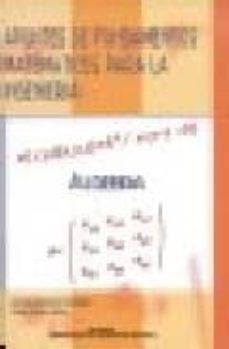 Javiercoterillo.es Apuntes De Fundamentos Matematicos De La Ingenieria: Algebra Image