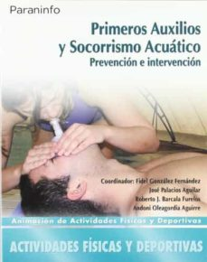 Descarga gratuita de revistas ebooks PRIMEROS AUXILIOS Y SOCORRISMO ACUATICO