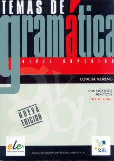 Descargar ebooks free amazon TEMAS DE GRAMATICA 9788497784290 RTF