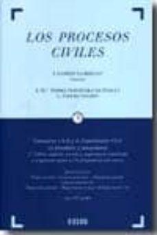 PROCESOS CIVILES: COMENTARIOS A LA LEY DE ENJUICIAMIENTO CIVIL (4 VOL.) (2ª ED.) - JOSE GARBERI | Triangledh.org