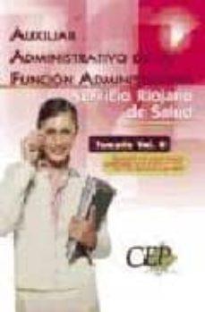Cdaea.es Oposiciones Auxiliar Administrativo De La Funcion Administrativa. Servicio Riojano De Salud. Temario (Vol. Ii) Image