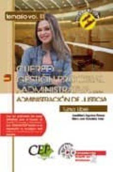 Titantitan.mx Oposiciones Cuerpo De Gestion Procesal Y Administrativa De La Adm Inistracion De Justicia. Temario Volumen Iii Image