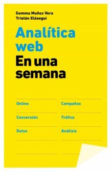 analitica web en una semana-gemma muñoz vera-tristan elosegui-9788498752090