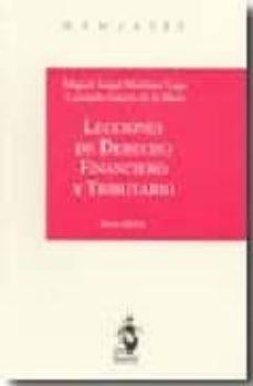 Iguanabus.es Lecciones De Derecho Financiero Y Tributario (6ª Ed.) Image