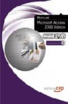 Encuentroelemadrid.es Manual Microsoft Access 2000 Basico. Formacion Para El Empleo Image