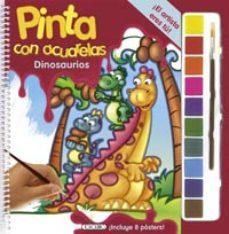 Titantitan.mx Dinosaurios: Pinta Con Acuarelas Image
