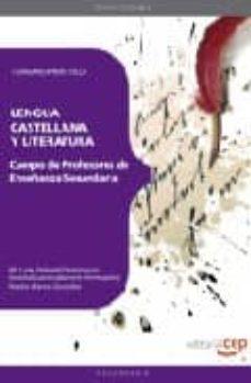 Asdmolveno.it Cuerpo De Profesores De Enseñanza Secundaria. Lengua Castellana Y Literatura. Temario Practico Image