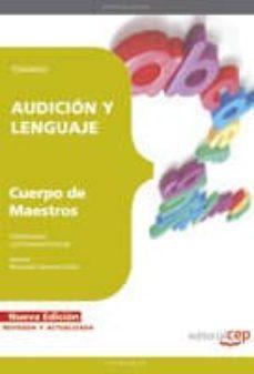 Milanostoriadiunarinascita.it Cuerpo De Maestros. Audicion Y Lenguaje. Temario Image