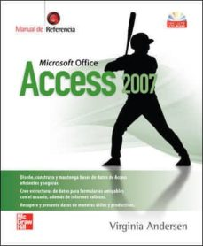 guia completa access 2007 (incluye cd-rom)-virginia andersen-9789701062890