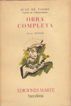 OBRA COMPLETA - JUAN (CONDE DE VILLAMEDIANA) DE TASSIS | Triangledh.org