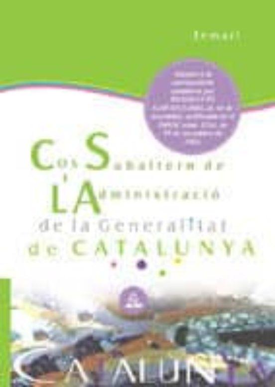 SUBALTERNS DE L ADMINISTRACIO DE LA GENERALITAT DE CATALUNYA: TEM ARI (edición en catalán)