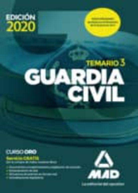 GUARDIA CIVIL. TEMARIO VOLUMEN 3