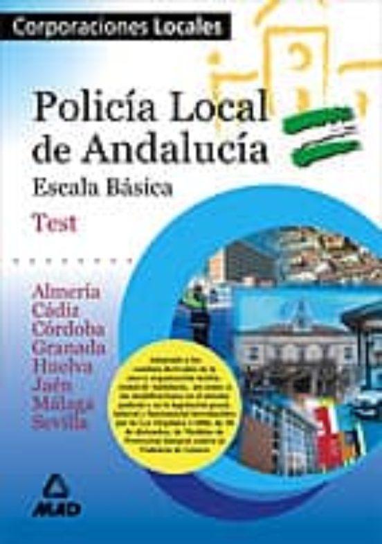 POLICIA LOCAL DE ANDALUCIA: TEST