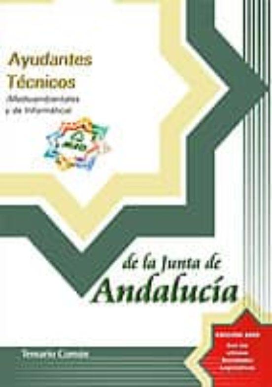 AYUDANTES TECNICOS DE LA JUNTA DE ANDALUCIA: TEMARIO COMUN