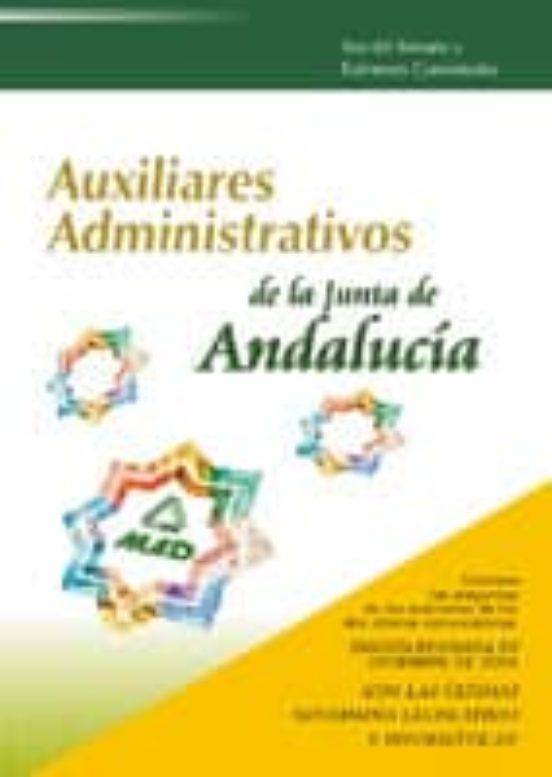 AUXILIAR ADMINISTRATIVO DE LA JUNTA DE ANDALUCIA: TEST DEL TEMARI O Y EXAMENES